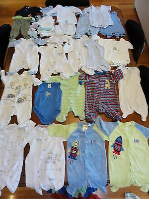 Baby Boys Clothes Mixed Bulk Lot 37 items sz 000 ( LOT 1 )