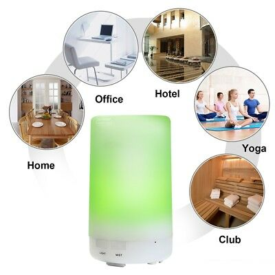 AU LED Aromatherapy Air Humidifier Aroma Steam Oil Aroma Therapy Diffuser Mist