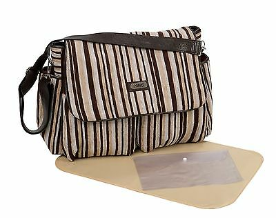 New Waterproof Multifunction Baby Diaper Nappy changing Bag / Travel Bag velour