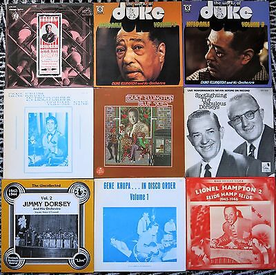 Top Sammlung 27 Jazz / Swing / Big Band / Vocal Jazz Lps Mint-
