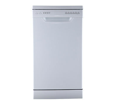 ESSENTIALS CDW45W16 Slimline Dishwasher A++ 9 place White