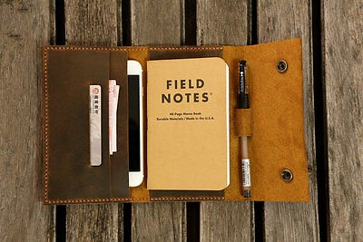 leather travel journal wallet cover iPhone 6 6s wallet