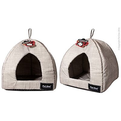 Pet Dog Cat Bed House Warm Soft Mat Bedding Cuby Cave Basket Kennel Washable