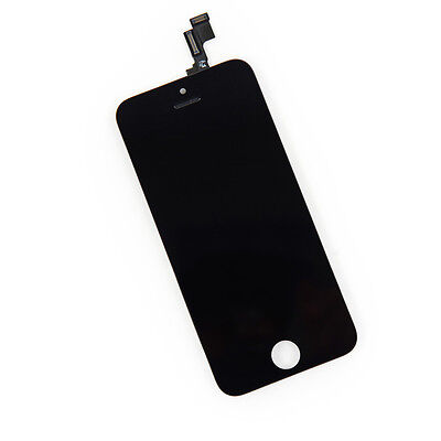Apple iPhone 5S Replacement Full Front Screen LCD and Digitizer Assembly BLACK
