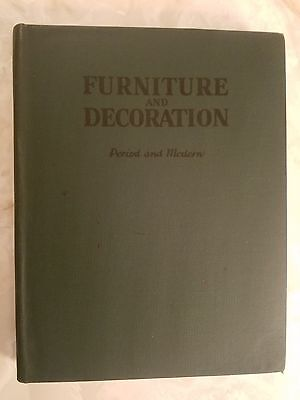Furniture And Decoration Period and Modern 1941 Joseph Aronson