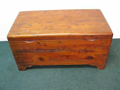 Antique Solid Cedar Chest By Standard Chest Company