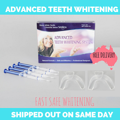 ADVANCED Teeth Whitening Kit. Thousands Happy Customers Pearly Whitens FAST
