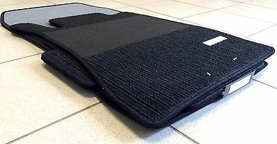 Mercedes Class C W202 RHD Black Floor Mats Set of 4 Carpet 1992 to 2000 UK