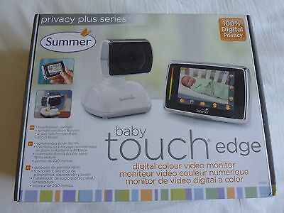 Summer Baby Touch Edge Digital Colour Video Monitor - NEW
