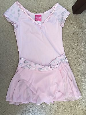 Sweet Girls Future Star By Capezio Pink Skirted Leotard, Child's Small