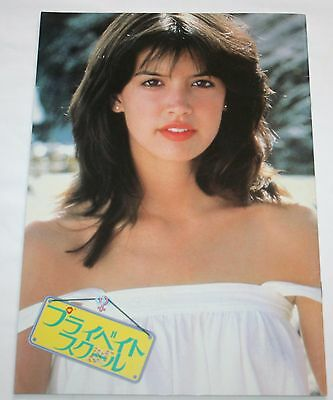 Phoebe Cates Private School Japan Original Movie Program 1983