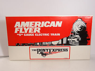 Lionel American Flyer S Gauge Union Pacific Pony Express Diesel Set 6-49600 New