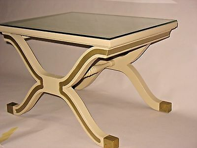 WOW! Vintage Mid Century Hollywood Regency Dorothy Draper Espana Side Lamp Table