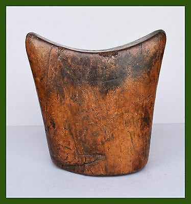 Lovely Gurage Tribe Example Of Block Headrest From Ethiopia