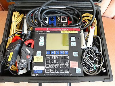 Powermetrix Powermate 330 Power System Analyzer With Cables and Accessories