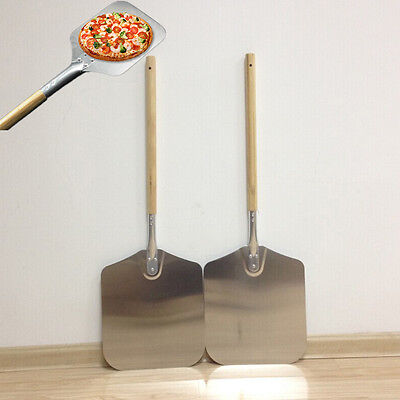 Eckige Pizzaschaufel Pizzaheber Pizzaschieber Pizzawender Pizza 66*30.5cm