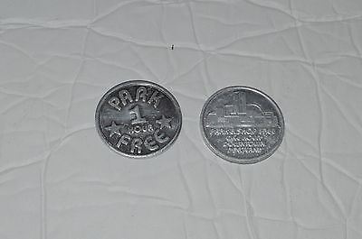 2- Downtown Portland Parking Tokens
