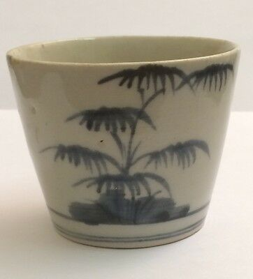 Antique Japanese  soba  cup c1740-1770 hand painted
