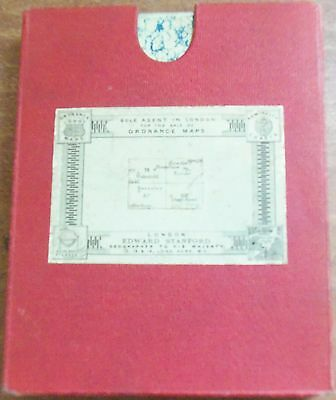 Edward Stanford Ordnance Survey Map - Wakefield, Barnsley, Goole and Doncaster (