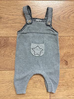 NEXT Baby Boy Dungarees 0-3 Months Vgc