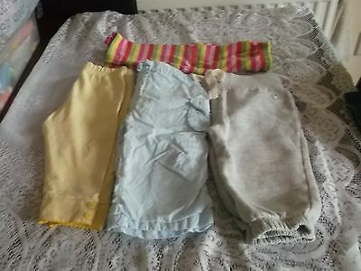 baby girls pretty clothes bundle 6-9 months