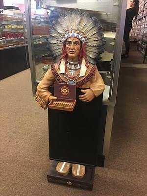Diamond Crown Collectible Chalkboard Cigar Store Indian