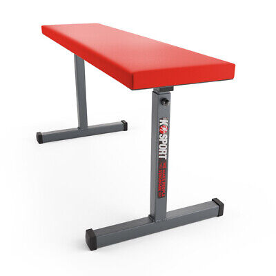 Flat Weight Bench Barbell Dumbbell Lifting Press Abs Fitness Max Cap 260KG