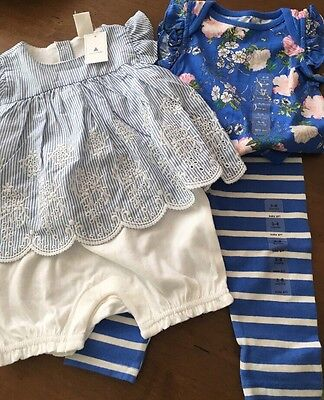 baby gap 3-6 months girls TWO OUTFITS