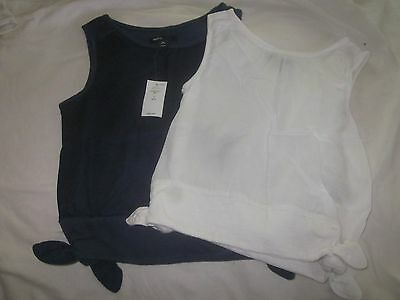 NWT GAP GIRLS set of 2 size S (6-7) shirts