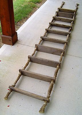 Salvaged 13 Foot Ship's Jacobs Rope Ladder