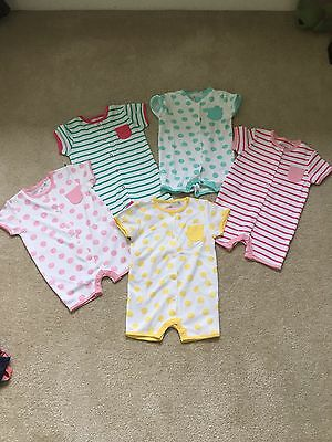Baby Girl Summer Rompers 3-6 Months