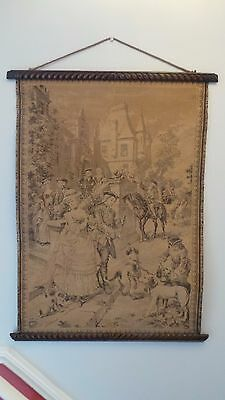 Antique /vintage French Tapestry