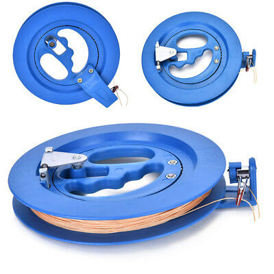 Outdoor Kite Winder Winding ReelGrip Wheel with flying Line String With LockBlue