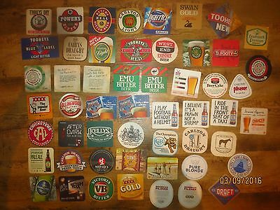 53 Different Australian BREWERIES collectable COASTERS