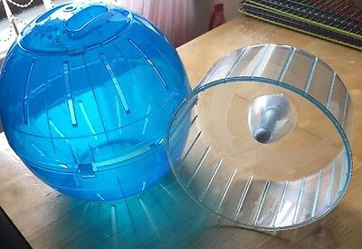 Running Ball For Small Hamster & Running Wheel for cage