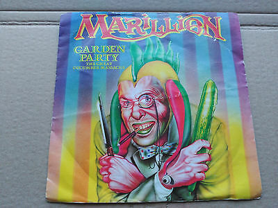 7'' Marillion - Garden Party (The Great Cucumber Massacre) - Emi Uk 1983 Vg/vg+