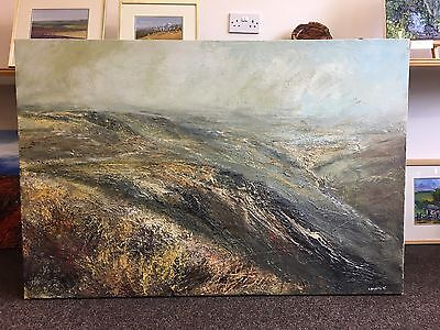 Kristan Baggaley 'RAIN ON KINDER' (2005) original oil on canvas painting