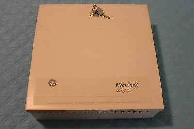 GE networx NX-8V2 Security Alarm Control Panel Box Network Interlogix No Box