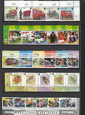 Isle of Man Unmounted Mint stamps 2000-2004 Multi-Listing Your Choice