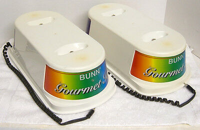 Bunn Cds-2, Cds-3  Frozen Drink Machine Lighted Hopper Bowl Covers, ,nice!