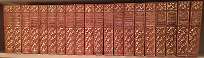 1906/1907 Complete Hillcrest Edition Works Of Mark Twain In Leather Binding