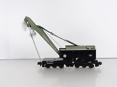 Lionel American Flyer S Gauge NASG 2006 GE Brownhoist Crane Car Item 6-48250 NEW