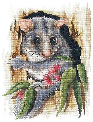 Peek-A-Boo Possum -  Cross Stitch Chart - Country Threads