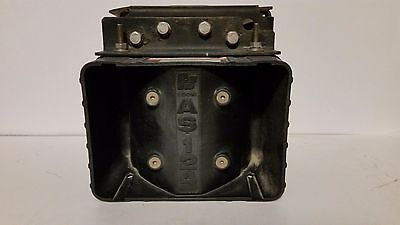 Federal Signal AS124 siren speaker 100w model 750501 with Crown Victoria mount