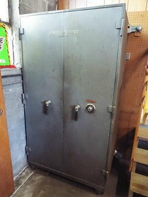 Large Antique Commercial Size Mosler Two Door Safe-Have Combination