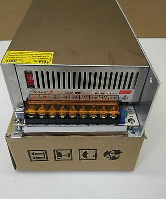 S-480W-48, 48VDC Switching Power Supply, 10A, NEW