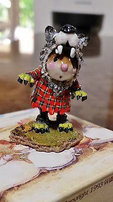"Wee Forest Folk M-441 ""Where's the Wolf?""  Mint"