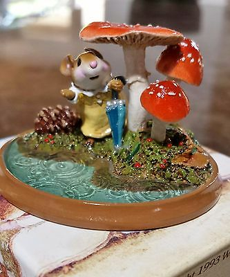 "Wee Forest Folk PM-5 ""Raindrops"" RETIRED  Mint"