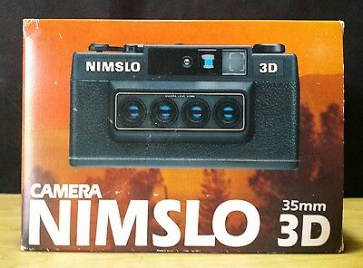 New in Box Vintage Nimslo 35mm 3D Camera New Old Stock