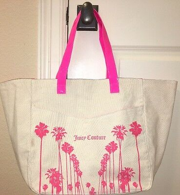 NWOT Juicy Couture Canvas Tote